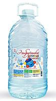 Вода Эльбрусинка 5л