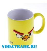 Кружка Angry Birds 3D желтая