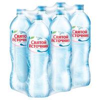 """Питьевая вода """"Святой Источник"""" 1,5л негаз. (6штх1,5л)"""