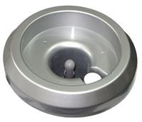 Бутылеприемник к модели 220 с иглой, серебро