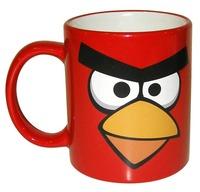 Кружка Angry birds красная