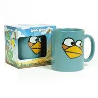 Кружка Angry birds серая