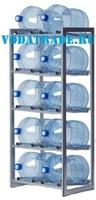 Стеллаж для воды на 10 баллонов