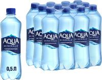 Вода питьевая Аква Минерали газ. 0,5л
