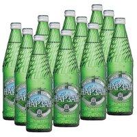 Вода минеральная питьевая Нарзан газ стекло 0,5л