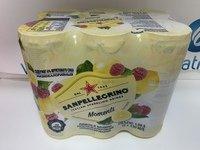SANPELLEGRINO напиток газированный лимон и малина 0,33