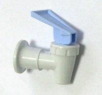 Кран ХВ с внутренней резьбой к 101, 190, 66L, 801Гласьер, (нажим рукой), белый корпус