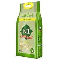 Наполнитель N1 комкующийся кукурузный 7кг